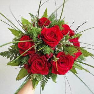 rose rosse - sculturafiori